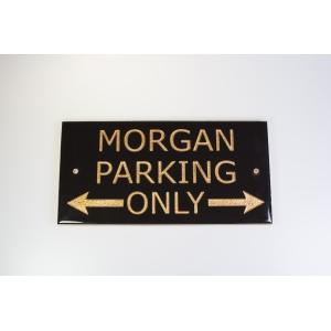 Keramická obkladová dlaždice Morgan Parking Only