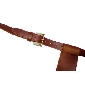 Kožený popruh k uchycení zavazadla
